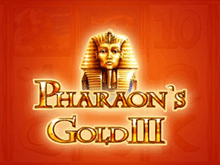 Автомат Pharaohs Gold III с бонусом